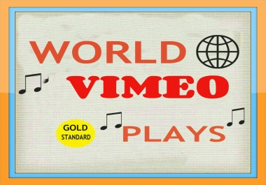 I WILL GIVE USA 100,000 PLUS VIMEO PROMOTION