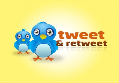 Give You 50+ Real Twitter Retweets