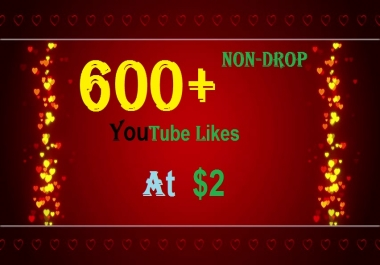 650+ INSTANT HQ YouTube Real Video Likes Safe, Fast & Non-Drop