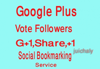 I will give 1000 Google Plus Follow