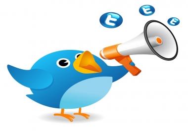 Add 100+ Twiter Re-tweets or Favorites very fast