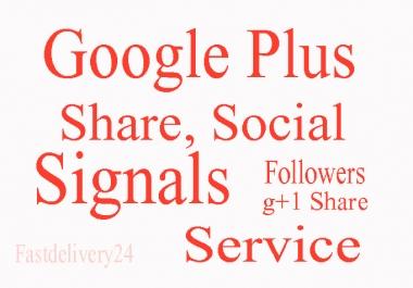 Get 150+ USA VERIFIED Google PLUS One G+1 Vote Likes