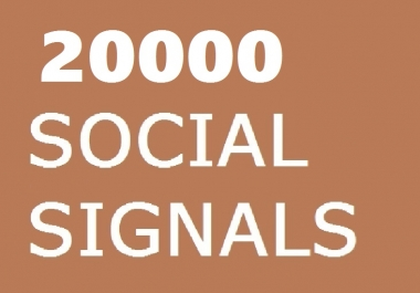 7 PLATFORM 20000 SOCIAL SIGNALS SEO BACKLINK BOOKMARK SHARE TO GOOGLE PLUS LINKEDIN REDDIT BUFFER STUMBLEUPON VK HIGH PR PAGE RANK
