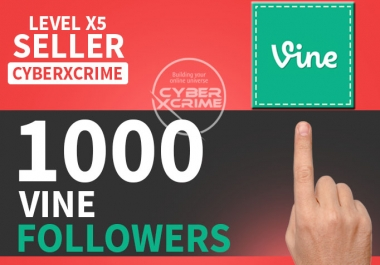 give you 1,000 Vine Followers Or Likes Or Repost Or Loop