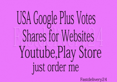 I will provide 100 Real Human Google Plus Share all from different IP only for u