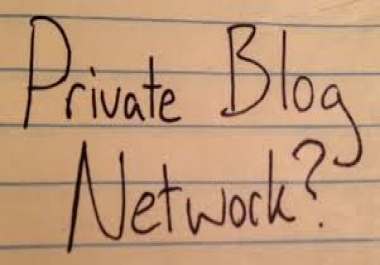 create 30 guest posts on our PR3 and PR2 Private blog network...