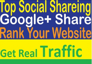 Get 250 Google plus Share for your website