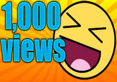 Give you 1050 - 1200 REAL VIEWS High Retention 1 and 2 min.  and bonus 40 LIKES. VERY FAST  DELIVERED . ORGANIC TRAFFIC + bonus  Human FAST YOU..TUBE... RETENTION