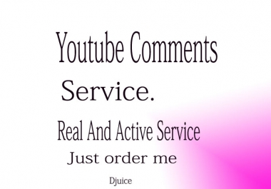 Manually Add 60+ Real Comments To Your YouTube Video Only