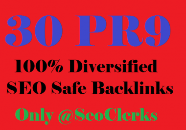 Generate 30PR9 backlinks best for your SEO