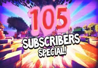 105+++ YouTube Subscribers or 250 youtube likes  in 72 hours delivery