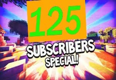 Supper Fast 100+++ YouTube Subscribers or 250 you tube likes  30 you tube custom comments only  in 72 hours delivery