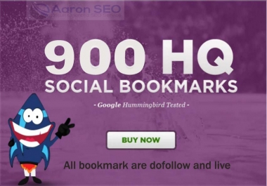 I will add your site to 800+ SEO social bookmarks high quality backlinks