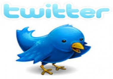 Best 40000+ Twitter Followers Will be Delivered to Your Twitter Account Just