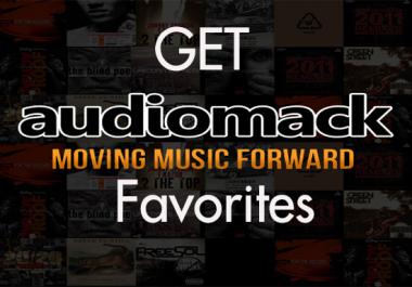 give 200 Audiomack Favorites