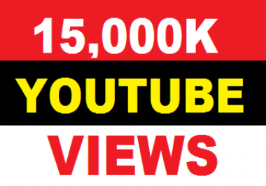 15,000  you tube view your you tube account