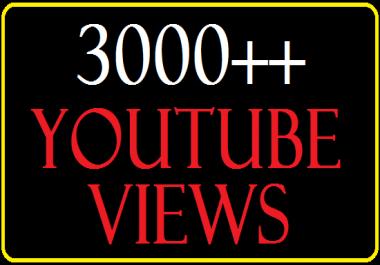 Get 3,000+  Split able You Tube View 300 lik es .