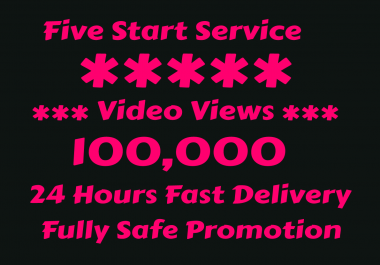 INSTANT PROMOTION OF VIDEO. HURRY ORDER NOW