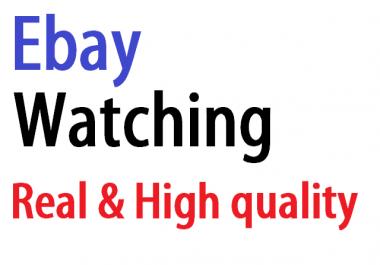 give 50 ebay watching list
