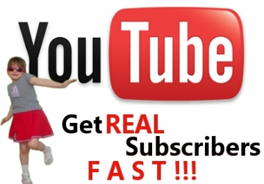 Instant 1,000+ HQ Youtube Channel Subscribers Within 24 Hours