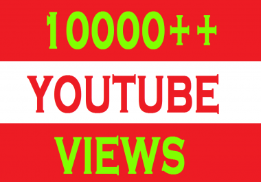 10,000+ High Quality Split 2 link YouTube View or 500+liks