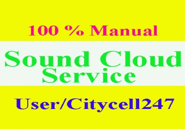 add soundcloud  200 comments + 200 repost + 200 likes + 200  follower with 6 hours