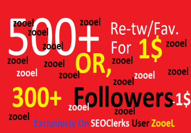 Start Instant 500+ re-twt or 500+ Likes within 1-12 hours