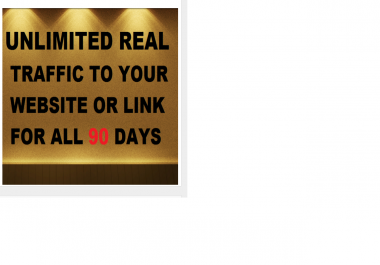 drive Unlimited Real Traffic To Website