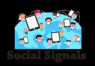 15,000 Social Signals PR9-PR10 0nly