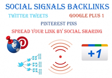 BOOST SEO with 1,500+ Effective Social Signals Pack