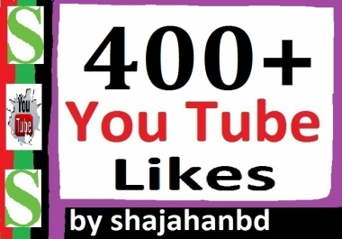 400+ You tube L-ikes Or 20 Custom Com-ments Within 12/24 Hours