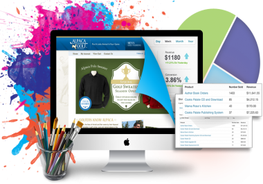 Get a Super Modern Website, Responsive, Mobile Ready, Ecommerce HTML5 Installed and Online Quickly!