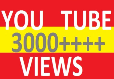 3000 Random Retention now 1-3 minute watch time video view 500+  lik es