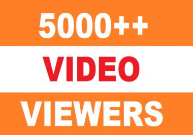 5000 HQ High Retention Real Human YuTub  Vie wers 50 lik es