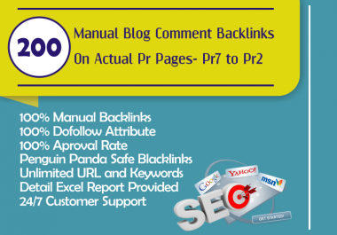 Make Dofollow 200 Blog Comment Backlinks