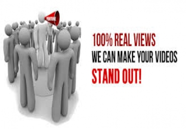 Deliver Real Human Retention 2000++ YouTube Views With Super-Fast Delivery
