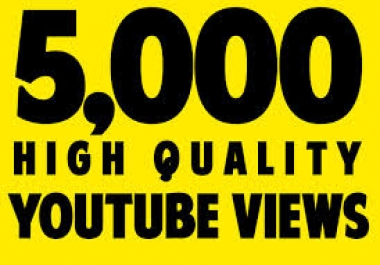 i provide you 5000 HR Youtube video boost