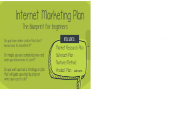 write You An Internet MARKETING Plan