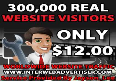 300K Web Traffic To Your Website, Blog or Affiliate Link