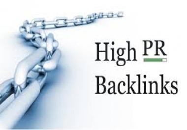 Create manually 100 PR1-PR7 verified SEO backlinks for Best Result