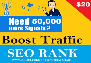 50,000 PR9 Seo Permanent Social Signals For Business Promotion Top 5 Platform Social Media