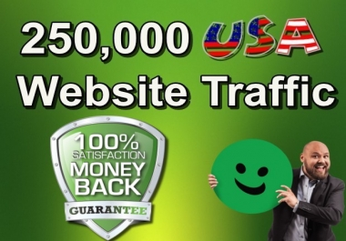 250,000 Keyword Targeted USA Website Traffic By Social Media SEO