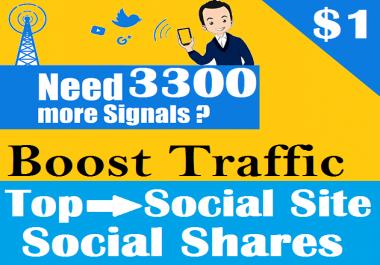 3300 Permanent PR9 Social Signals From Pinterest StumbleUpon Important For Website SEO Ranking Factors