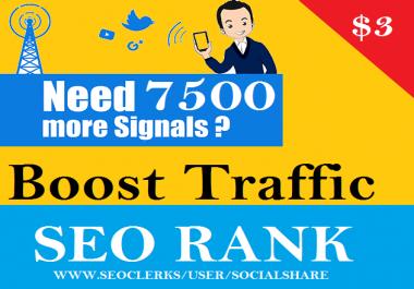 7500 Pinterest PR9 SEO Social Signals