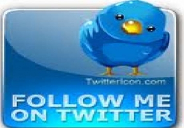 Provide Real  1500+ Active Twitter Followers, only
