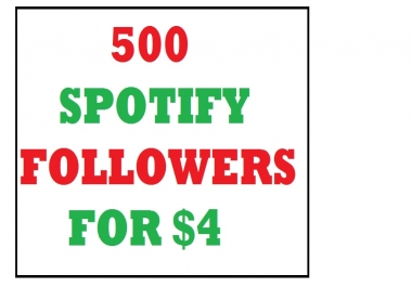 500 spotify playlist profile followers