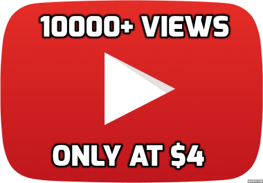 10000+ YOU_TUBE Watchers High Retention Promotion Only