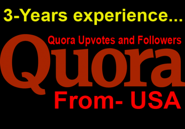 I will 15 Quora Upvotes Or Followers