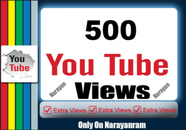 500 Niche Related YouTube Views Non Drops