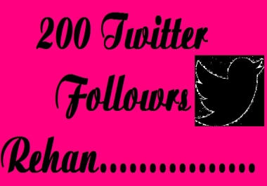Give you 200 real Twitter